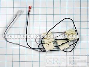 Whirlpool Part  12002792 Spark Ignition Switch And Harness