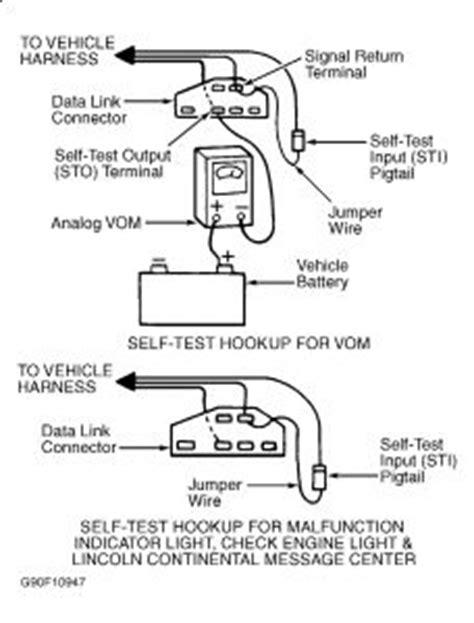 Ford Taurus Start Radiator Fan Fuel Pump