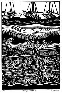 Hugh Ribbans   Linocuts  U0026 Woodcuts