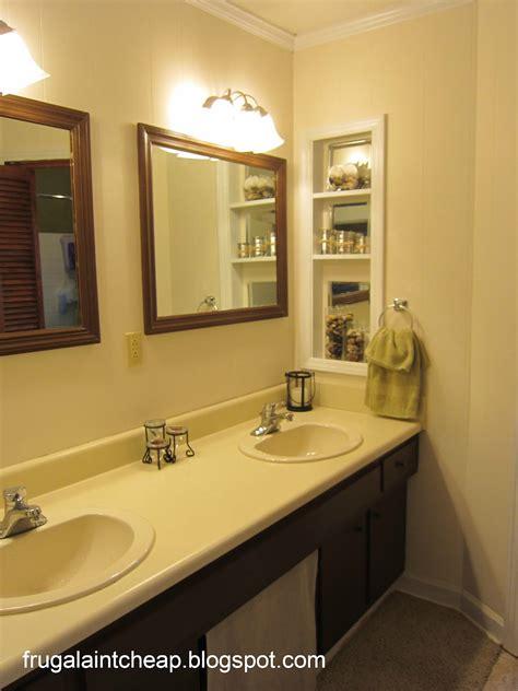 frugal aint cheap bathroom remodel