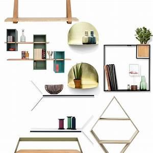Etagere Salon Design : les tag res design r veillent nos murs elle d coration ~ Teatrodelosmanantiales.com Idées de Décoration