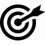 Icon Bullseye Clipart Target Arrow Eye Bulls