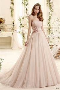 blush colored wedding dresses 2015 images With wedding dress colors