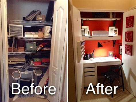 before and after closet makeover bedroom decor ideas