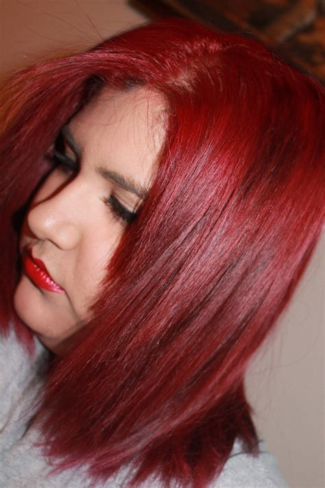 How To Dye Your Hair Bright Red And How To Maintain It