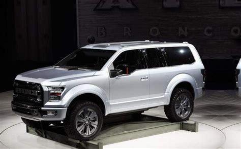 ford bronco diesel rumors price  specs ford