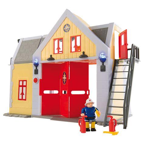 siege smoby caserne sam le pompier smoby king jouet héros univers