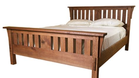 build  mission style bed finewoodworking