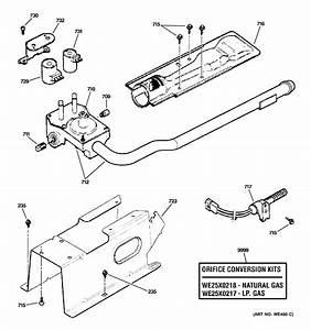 Ge Dhdvh52gf1ww Gas-burner Igniter Assembly