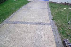 Gravier A Beton : allee pietonne beton desactive exterieur pinterest ~ Premium-room.com Idées de Décoration