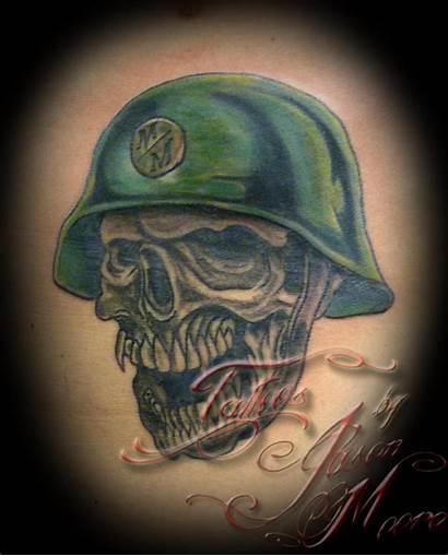 Helmet Skull Tattoos Tattoo Wings Dot Wheel