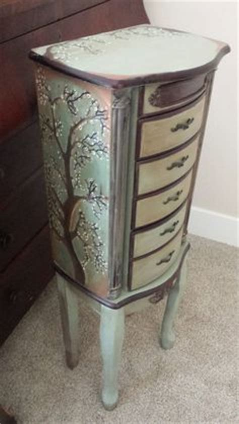 French Garden Jewelry Armoire (powell's) Has Romantic 18th