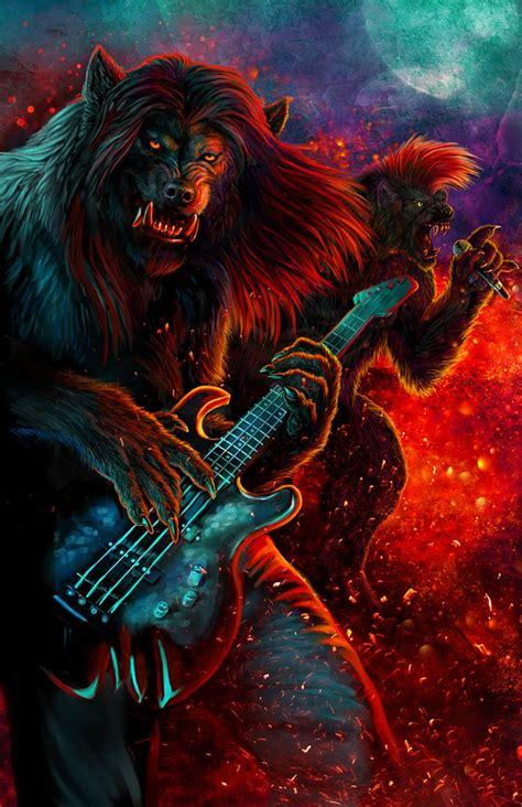 Werewolves Vs. Music by Viergacht on DeviantArt