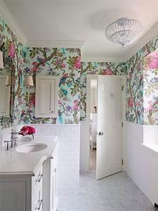 papier peint salle de bain offrant la possibilite de With salle de bain design avec cadeau décoration d intérieur