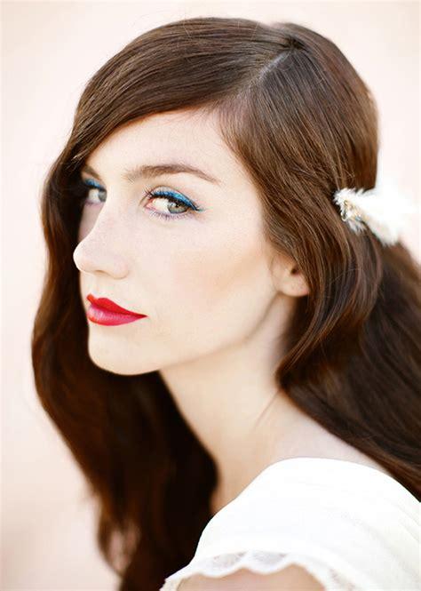 Glamorous bridal makeup & hairstyles | Wedding Inspiration ...