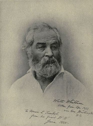 walt whitman signed 1863 walt whitman