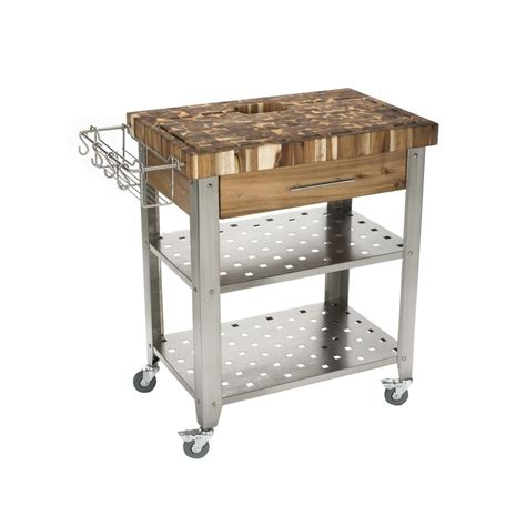 stainless steel kitchen islands chris chris pro stadium stainless steel kitchen cart