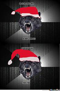 Insanity Wolf's Christmas Song by gaggyer - Meme Center
