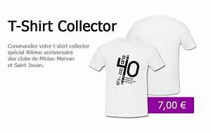 T Shirt 40 Ans : 40 me anniversaire un t shirt collector en vente miniac morvan saint jouan basket ~ Farleysfitness.com Idées de Décoration