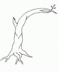 Winter Tree Coloring Page - AZ Coloring Pages