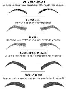 Free Printable Eyebrow Stencils Tattoo | Books Worth Reading | Eyebrows, Uneven eyebrows, Brows