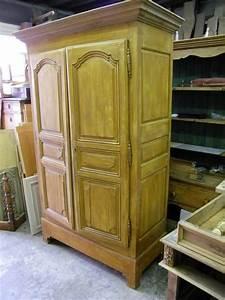 Armoire Ancienne Repeinte En Gris Et Patine Atelier De
