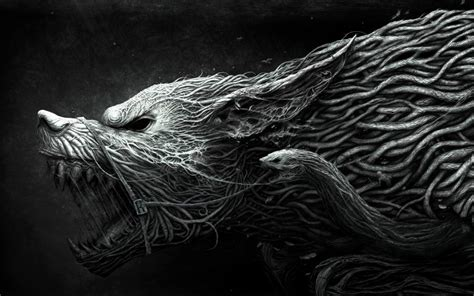 Abstract Wolf Wallpaper by Wolf Wallpaper 3d And Abstract Wallpaper Better