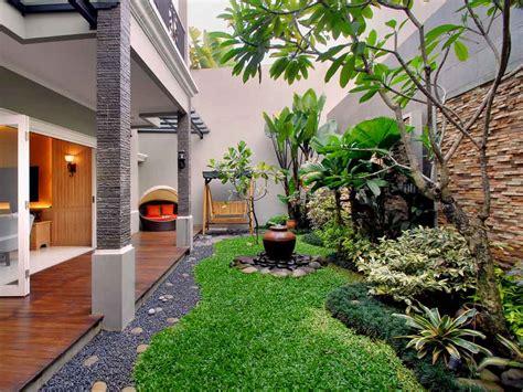 contoh taman rumah taman minimalis taman depan rumah
