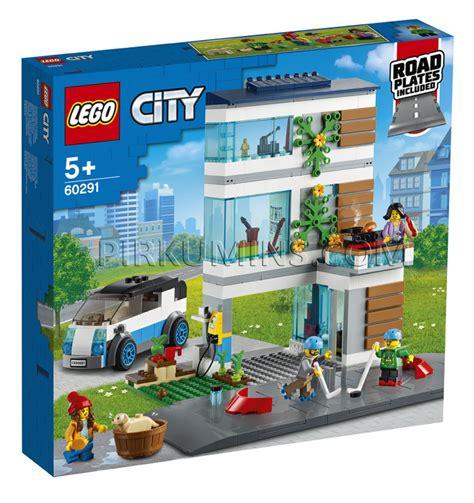 60291 LEGO® City Ģimenes māja, no 5+ gadiem NEW 2021 ...