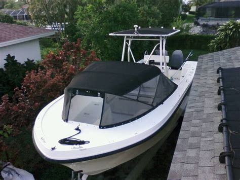 Used Open Bow Boats For Sale Near Me by Canvas Shop Near Lavallette Nj Custom Spray Dodger For