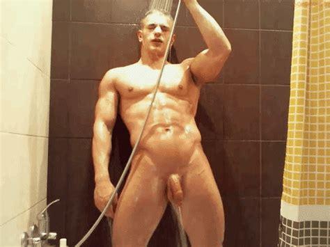 sexy jock shower nude we love nudes