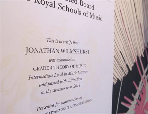abrsm exam certificate grade theory distinction se piano