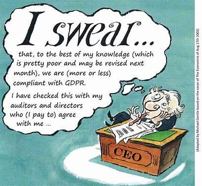 Gdpr Compliance Privacy Cartoon Balance Humorous Medium