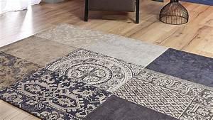 tapis classique tapis pale purple vintage saint maclou With tapis vintage patchwork