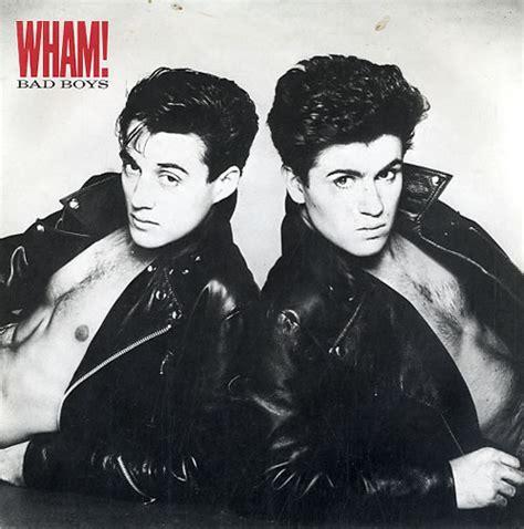 wham poster wham bad boys poster sleeve uk promo 7 quot vinyl single 7