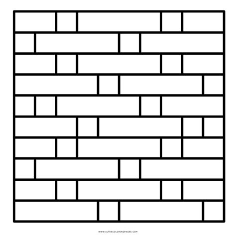 Coloring Wall by Brick Wall Coloring Page Coloring Pages