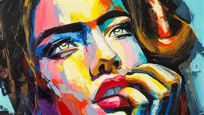 Painting Portrait Backgrounds Wallpapers Awake Stunning Paint