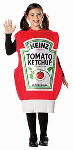 Kinder Heinz Ketchup Squeeze Flasche Kostm Lustige
