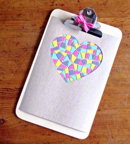 paint chip mosaic paint sample crafts popsugar smart