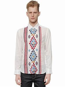 Paul Joe : lyst paul joe embroidered cotton muslin shirt for men ~ Orissabook.com Haus und Dekorationen