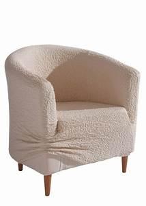 housse de fauteuil froissee creme maison bpc living With tapis yoga avec housse canapé grande taille