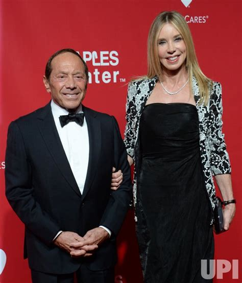 Paul Anka and Lisa Pemberton attend the MusiCares Person