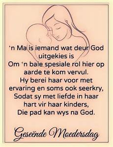 'n Ma is ie... Moeder Dag Quotes