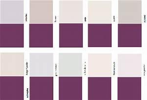 comment associer la couleur aubergine en decoration With palettes de couleurs peinture murale 0 stilvoll palette de gris avec on decoration d interieur