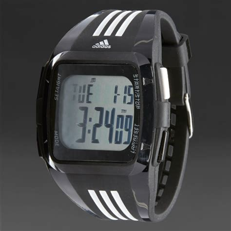 adidas duramo wrist  football accessories black white