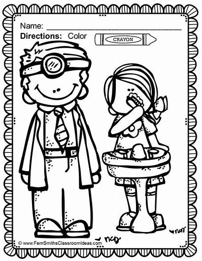 Dental Health Coloring Pages Month Fun Teeth