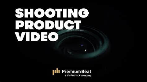 How To Shoot Product Videos  Premiumbeatcom Youtube