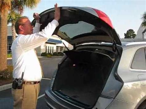 audi  power tailgate trick youtube