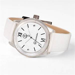 Q U0026q Smilesolar White Unisex Watch