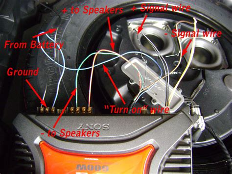 Instruction How Install Car Stereo Sub Woffer